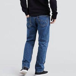 Men's 31X30 Levi's 505 Regular Fit Jeans